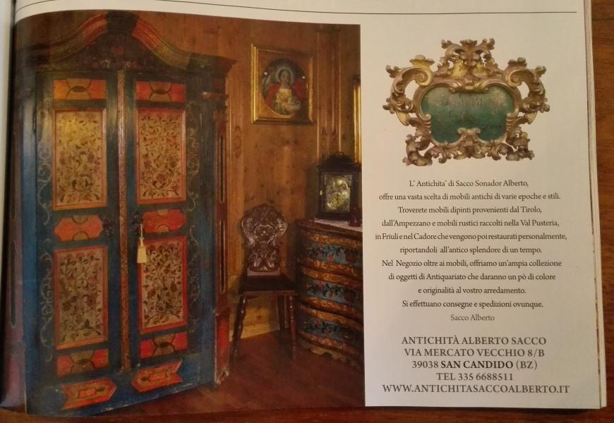 Riviste del settore mobili antichi tirolesi mobili - Mobili dipinti tirolesi ...