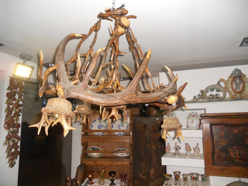 Lampadari mobili antichi tirolesi mobili dipinti - Mobili dipinti tirolesi ...