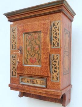 Pensili mobili antichi tirolesi mobili dipinti - Mobili dipinti tirolesi ...